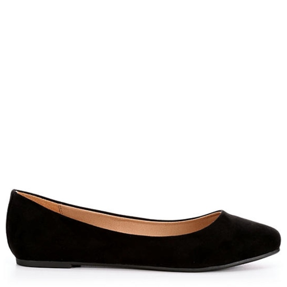 Madden Girl So Cutee Womens Suede Black